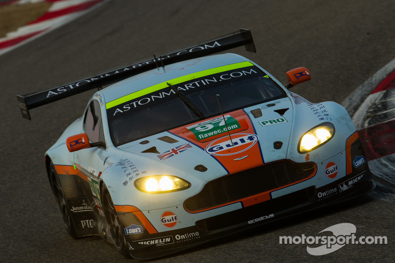 Aston Martin wins GTE at the Six Hours of Shanghai