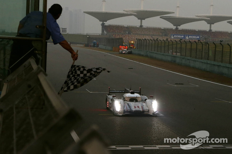 Tréluyer: His final laps at Shanghai before celebrating the championship