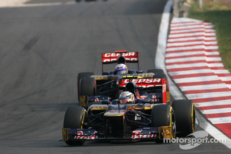 Ricciardo and Vergne will continue racing for Scuderia Toro Rosso in 2013