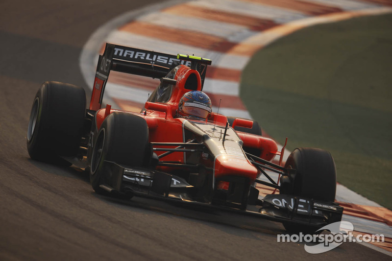 Marussia heads to desert island for Abu Dhabi Grand Prxi