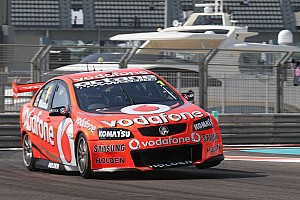 TeamVodafone saw Whincup's 'Kate' double-up Saturday wins in Abu Dhabi