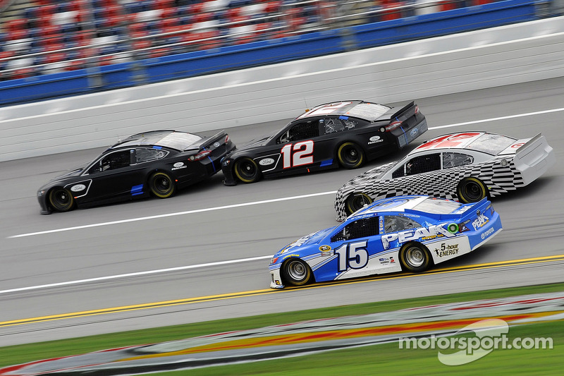 New car Charlotte tests and Preseason Thunder dates are set