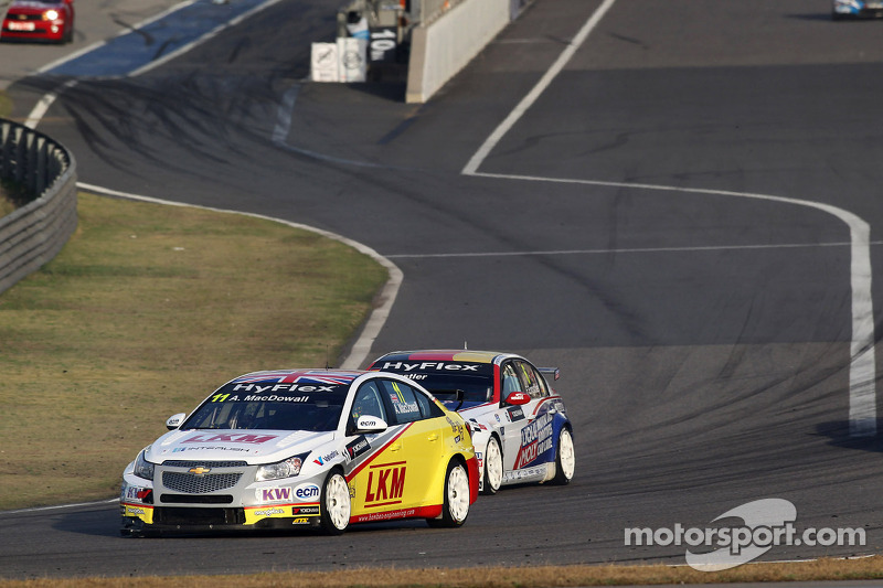 Chevrolet's MacDowall hopping to clean-up on streets of Macau