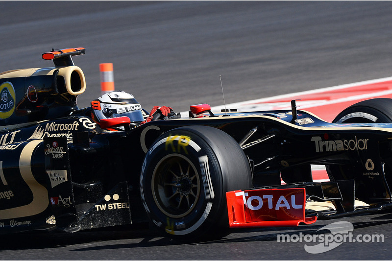 Lotus took a formation finish with Räikkönen in 6th and Grosjean 7th in the US GP