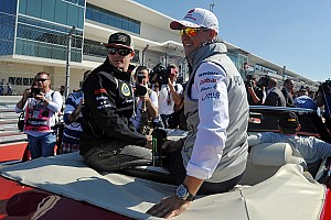 Formula 1 Commentary Even Schu's parade-lap road car didn't work