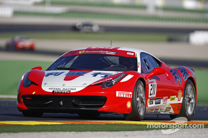 Kessel Racing ends Finali Mondiali Ferrari with a success in Valencia