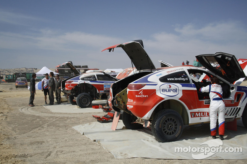 Riwald Dakar Team enjoyed the stage 1 in Peru