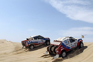 Dakar Stage report  G-Force team ready for the challenge after first stage in Peru