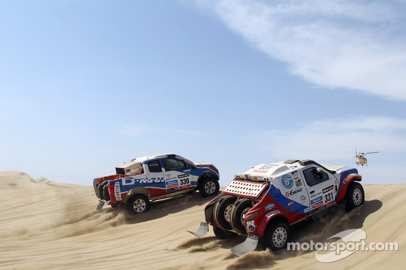 G-Force team ready for the challenge after first stage in Peru