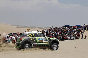 Dakar Stage report Monster Energy X-raid Team and Peterhansel earn stage 2 victory