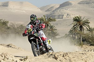 Dakar Stage report Another podium for Team Husqvarna as Goncalves is second in stage 3