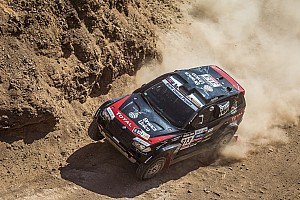 Dakar Stage report Peterhansel defended his overall lead in stage 6
