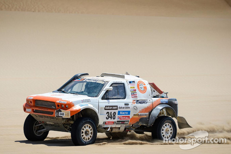 The glory turns to dust for G-Force Motorsport on stage 6