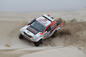 Dakar Stage report De Villiers and Von Zitzewitz third on special stage 12, second overall