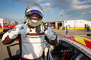 Grand-Am Qualifying report Newest Porsche Factory driver Nick Tandy takes Daytona 24H GT pole