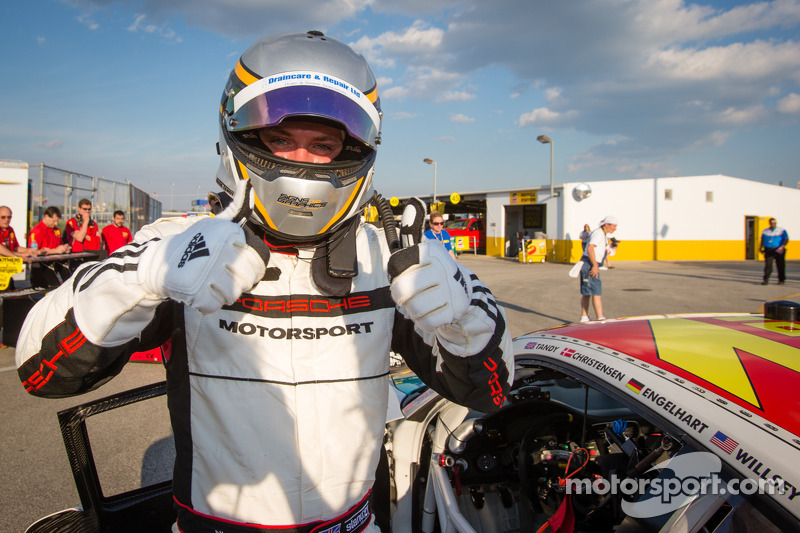 Newest Porsche Factory driver Nick Tandy takes Daytona 24H GT pole