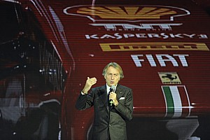 Formula 1 Breaking news Ferrari's Montezemolo: I defined this car as 'hopeful'