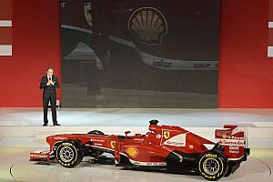 Scuderia Ferrari launches F138 Formula One car