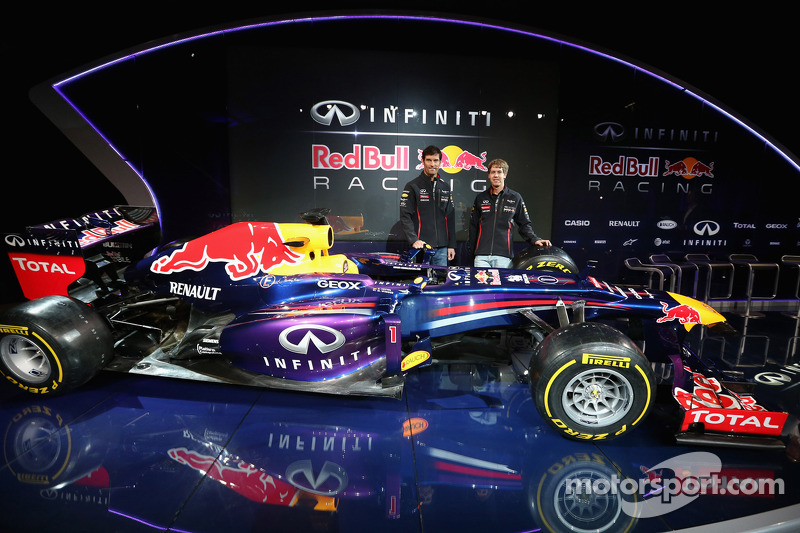 Infiniti Red Bull Racing reveals title partnership and new livery