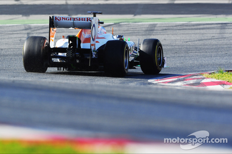 Di Resta completes his two days of test runs on Circuit de Catalunya