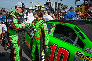 Danica Patrick and Tony Gibson talk about their Daytona 500 strategy