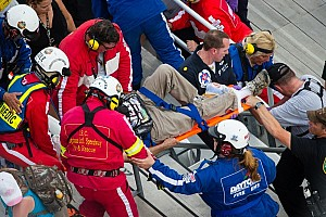 Medical update on injured spectators during NNS race in Daytona