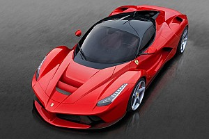 Automotive Breaking news The LaFerrari unveiled at Geneva Auto Show