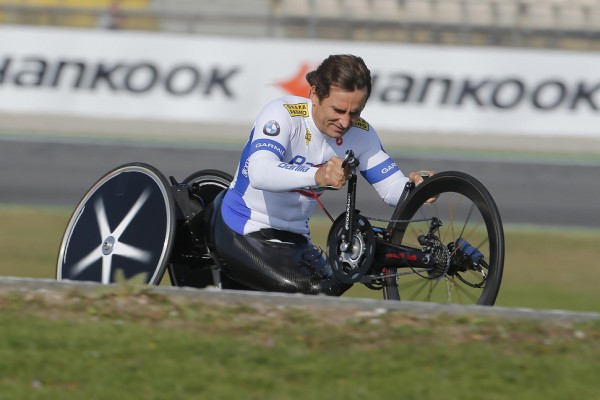Zanardi nominated for a prestigious Laureus award