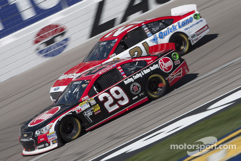 Harvick earn hard fought ninth-place result at Las Vegas Motor Speedway
