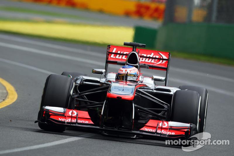 Vodafone McLaren Mercedes works on improvements after free practice