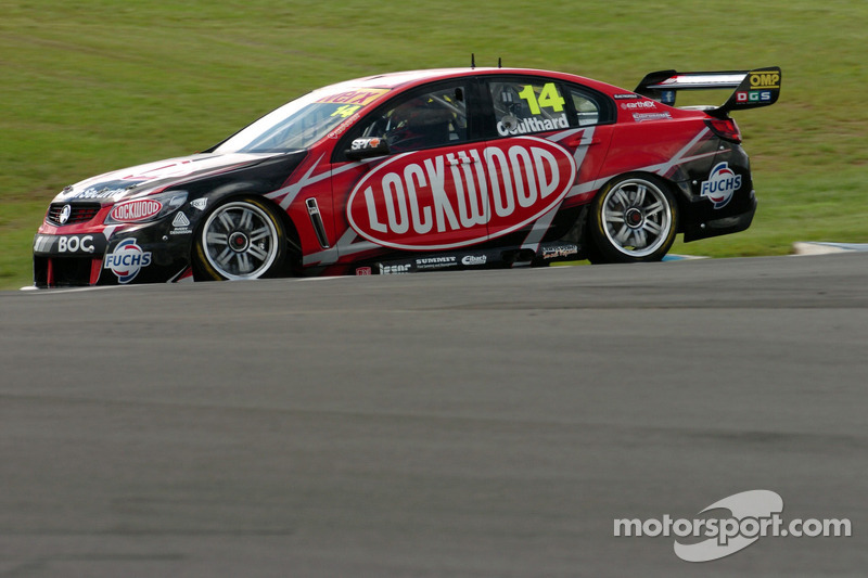 Eight cars excluded from race three in Melbourne hands Coulthard the win