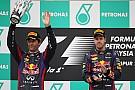 Double podium for Infiniti Red Bull Racing Renault in Malaysian Grand Prix