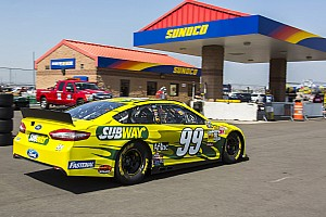 NASCAR Sprint Cup Race report Edwards and Biffle put top-Five finish in California