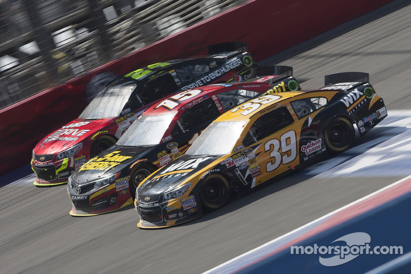 Newman rebounds from pit penalty to finish 10th at Fontana