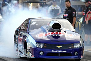 NHRA Qualifying report After Friday qualifying Line is eager to bring more to the table on day two in Vegas