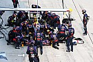 Rivals study Red Bull's record pitstops