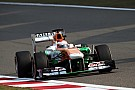 Force India after qualifying at China GP