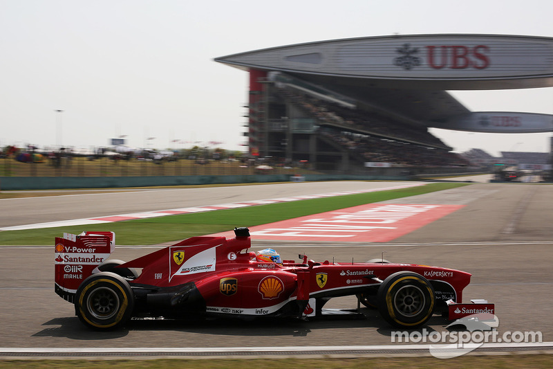 Alonso and Massa in the top five - Chinese GP