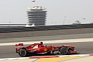 A calm Friday start in the desert for Ferrari in Bahrain