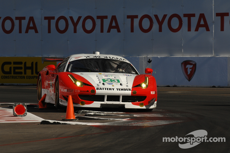 Alex Job Racing to start Long Beach on fifth row in GT