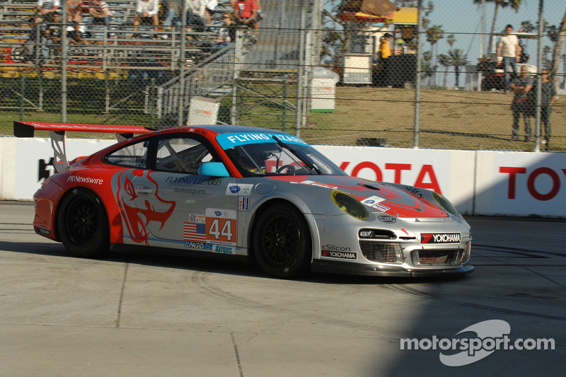 Pumpelly qualified in third place in the No 45 911 GT3 Cup in Long Beach