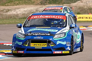 BTCC Race report Airwaves Racing's hard work rewarded at Thruxton