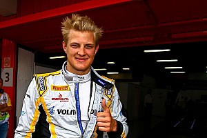 GP2 Qualifying report Marcus Ericsson dashes to maiden pole at Circuit de Catalunya
