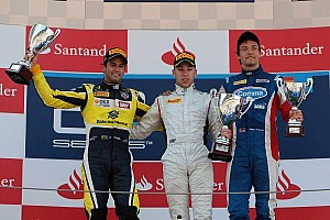 GP2 Race report Frijns powers to maiden win on feature race in Barcelona
