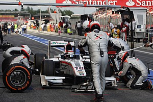 Pit-stop decisive for Coletti in Barcelona's Feature race