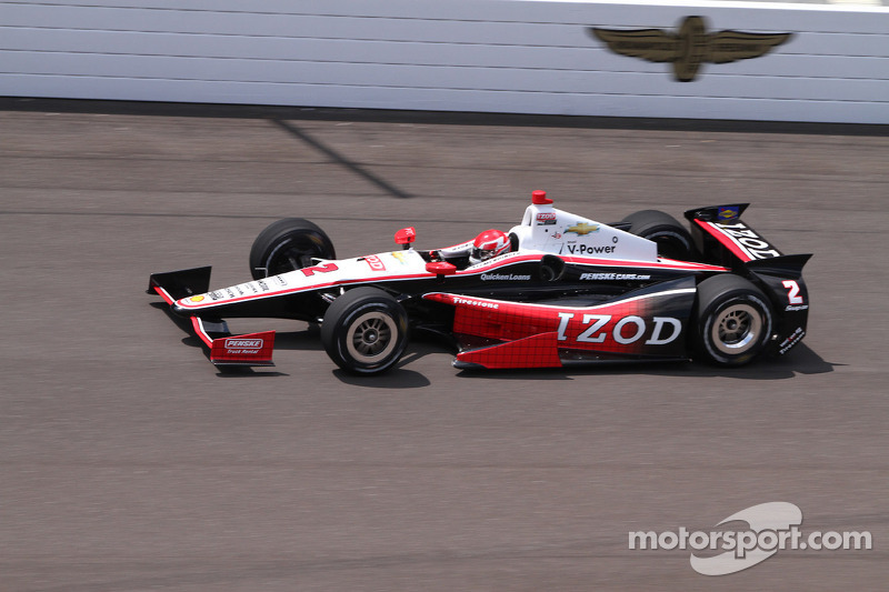 Success at Indy for the rookies as Carpenter sets early pace