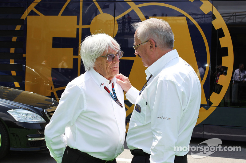 German prosecutors charge Ecclestone with bribery