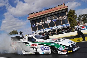 NHRA Qualifying report Force, Langdon and Edwards earn No. 1 qualifying positions at Kansas Nationals