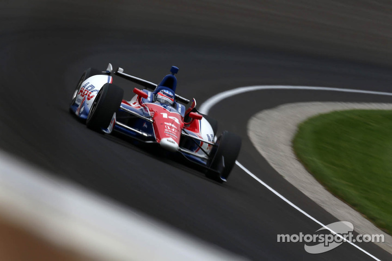 Takuma Sato qualified 18th for the 97th Indianapolis 500