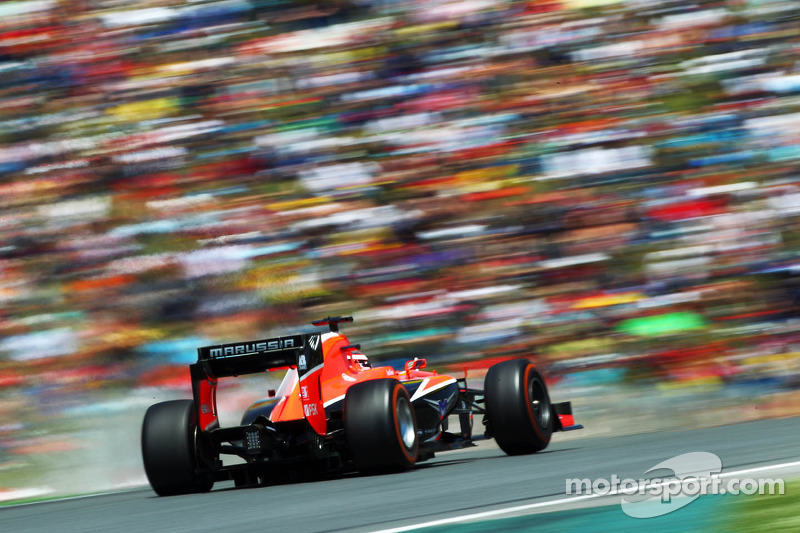 Bianchi feels pressure to push Marussia forward